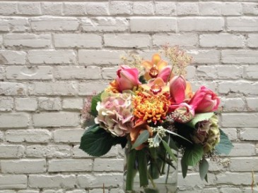 Autumn Ambiance Vase Arrangement