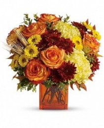 Autumn Expression Fall Flower Arrangement