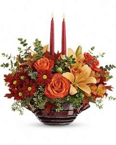 Autumn Gathering Centerpiece in San Antonio, TX | Bloomshop