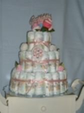 Baby Cake Diaper Cake in East Hampton, CT | ESPECIALLY FOR YOU