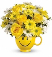 Be Happy Bouquet  in Eau Claire, WI | 4 SEASONS FLORIST INC.
