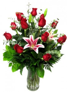 Just Perfect Roses & Lilies in Modesto, CA | FLOWERS BY HP Papadopoulos