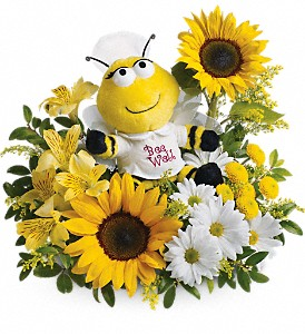 Bee Well Bouquet Get Well in Azle, TX | QUEEN BEE'S GARDEN