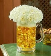 Beer Mug Arrangement