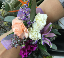 Berry Great Wrist Corsage
