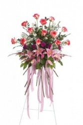BFS1 Funeral standing spray of flowers