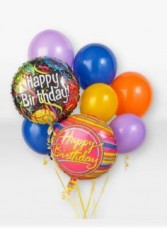 Birthday Balloon Bouquet Balloons in Sacramento, CA | A VANITY FAIR FLORIST