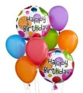 Birthday Balloons in Bracebridge, ON | CR Flowers & Gifts ~ A Bracebridge Florist