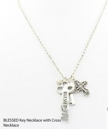Blessed Key Necklace