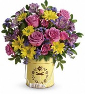 Blooming Pail Bouquet