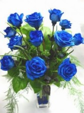 One Dz Blue Valentines Day Roses!!!!
