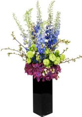 BLUE WATE ARRANGMENTE in Rockville, MD | ROCKVILLE FLORIST & GIFT BASKETS