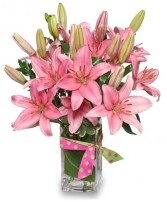 BLUSHING BEAUTY Bouquet in Bryant, AR | FLOWERS & HOME OF BRYANT