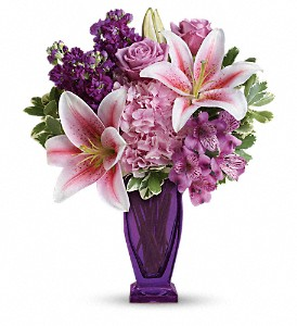 Blushing Violet Floral Bouquet