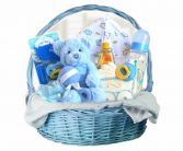 Bouncing Baby Boy Basket Gift Basket in Delta, BC | DELTA FLOWERS & GIFTS