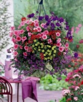 Bountiful Hanging Outdoor Planters