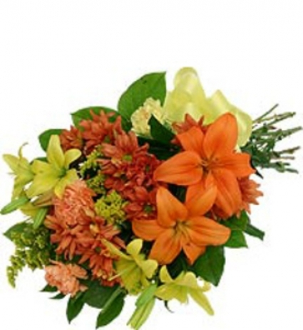 Bouquet of Fall Flowers
