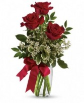 Bouquet with Red Roses roses