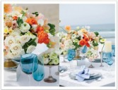 Bright Bloom Wedding Decor