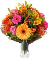 BRIGHT & CHEERY BOUQUET in Rockville, MD | ROCKVILLE FLORIST & GIFT BASKETS