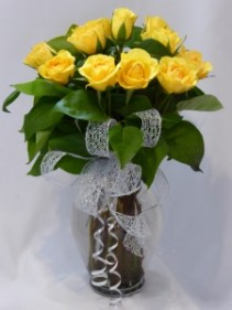 BUTTERCUP 18 Yellow Roses  Premium Yellow Roses, Rose Bouquets Prince George BC   Prince George BC Roses   Flowers Prince George BC   Flower Bouquets   Prince George BC