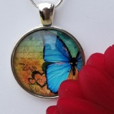 Butterfly Necklace #4 Add to a vase