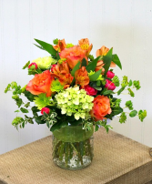 California Sunrise Vase Arrangement