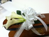 Calla Prom corsage Prom flowers