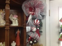 Candy Cane Teardrop Blossom Shop Exclusive in Russellville, KY | THE BLOSSOM SHOP