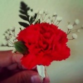 Carnation Boutonniere Flowers to Wear