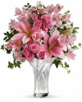 Celebrate Mom Bouquet T13M100A in Fairbanks, AK | A BLOOMING ROSE FLORAL & GIFT