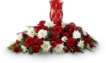 CELEBRATE THE SEASON Arrangement of Christmas Flowers