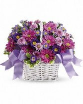 Cheerful Bouquet  Basket