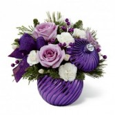 Christmas in Lavender  Keepsake Lavender Holiday Bouquet