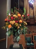 Church Arrangement Fall