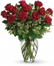 All my love Roses arranged in vase