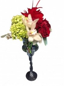 Classic Roses and Orchids