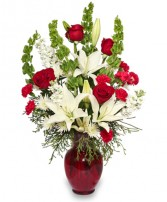 CLASSICAL CHRISTMAS Floral Arrangement in Hillsboro, OR | FLOWERS BY BURKHARDT'S