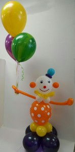 Clowning Around Artistic Balloon Arrangement