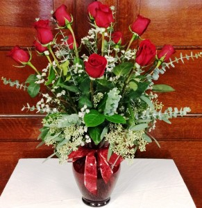 Coaches Deluxe Dozen  Roses in Red in Bethlehem, PA | COACHES FLORIST