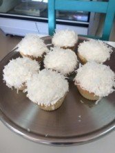 Coconut Cupcakes Sweet Blossoms