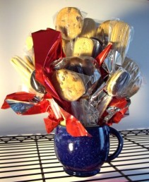 Coffee Cup Cookie Bouquet Two Gifts In One!!! in Springfield, IL | FLOWERS BY MARY LOU INC