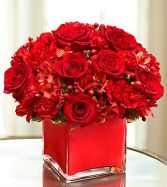 Colors of Love Red Flowers Online Washington DC