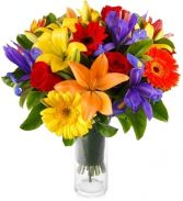 COLOURAMA BOUQUET in Rockville, MD | ROCKVILLE FLORIST & GIFT BASKETS