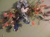 Country French Rooster Wreath By Perrine Custom Silks