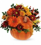 Country Pumpkin Arrangement