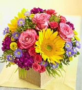 Country Road Blooms Sunny Bright & Cheerful Bouquet