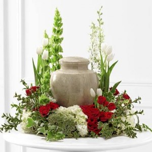 Cremation Urn Arrangement  in Selma, NC | SELMA FLOWER SHOP