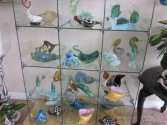 Crystal Glass Table Art Figurines  Gift Items