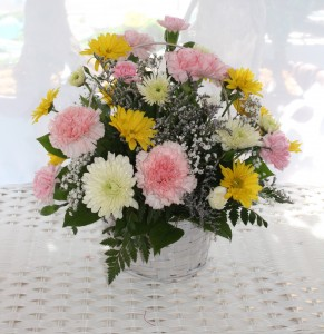 DAISIES AND MORE BASKET